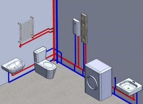 Централизованная система подачи горячей воды в многоквартирных домах